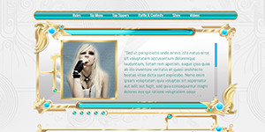 Custom MyFreeCams profile Design