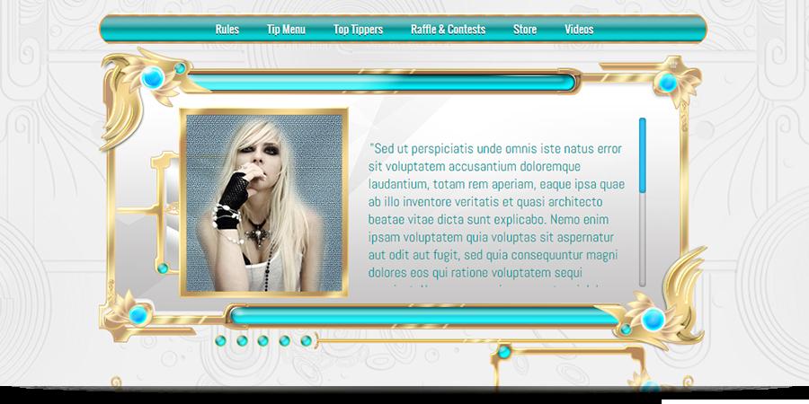 Calliope MyFreeCams profile design