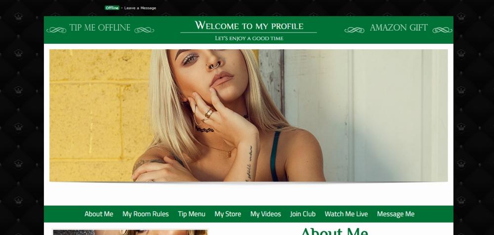 MyFreeCams profile design
