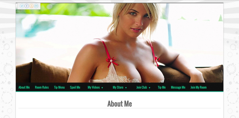 MyFreeCams profile design